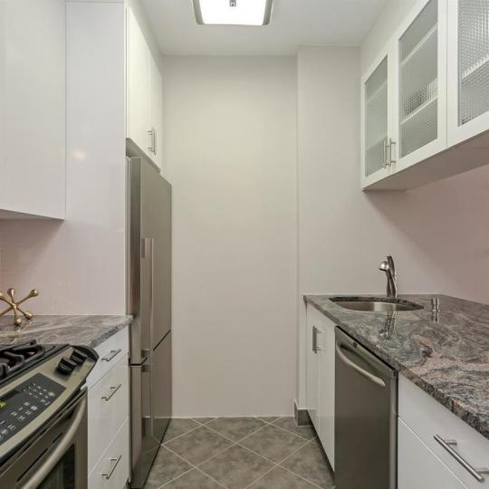 Condos for sale at 380 Rector Place in Manhattan - Kitchen