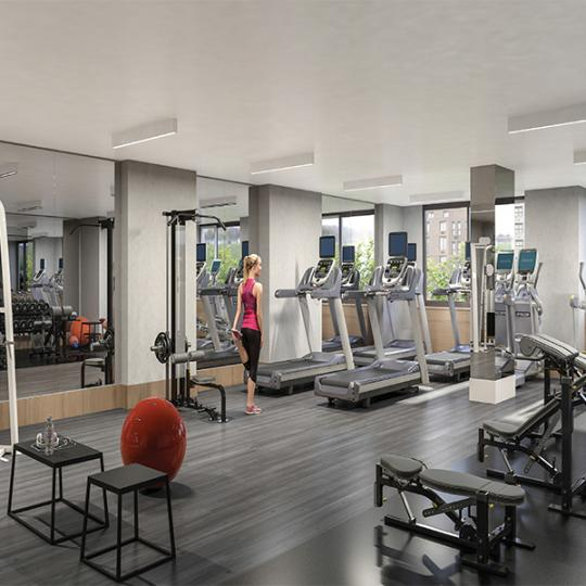 Apartments for sale at 389 East 89th Street in NYC - Fitness Center