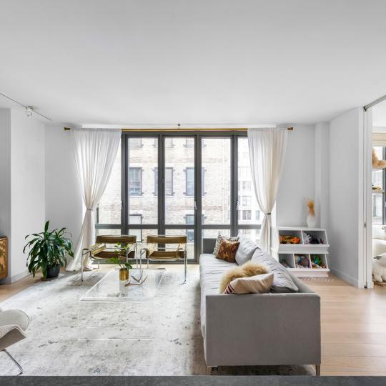 Living Room - 4 W 21 ST - NYC Condos - Luxury