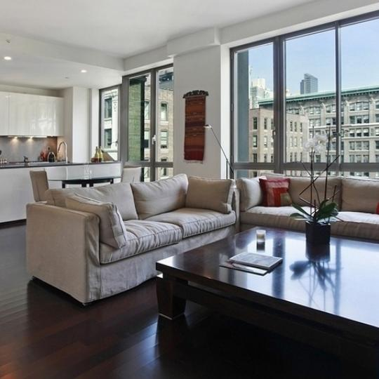 4 West 21st Street - Living Room - NY Condos for Sale