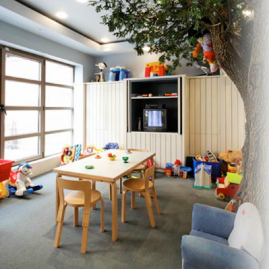 Children's playroom at 400 East 90th Street