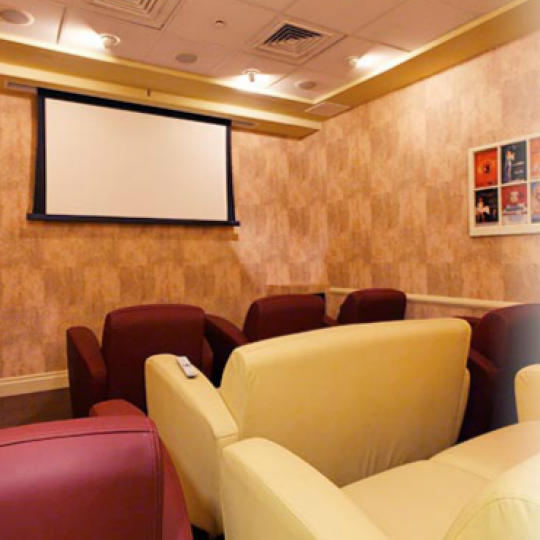 Screening Room at 400 East 90th Street in NYC