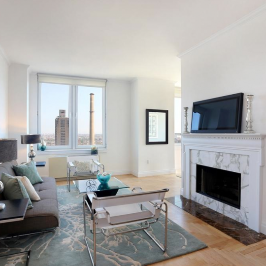 The Living Room at 404 East 76th Street
