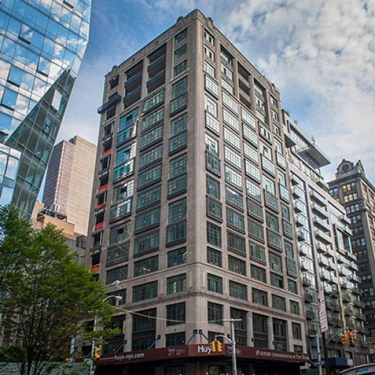 Exterior of the Huys - 404 Park Avenue - Condominium for Sale
