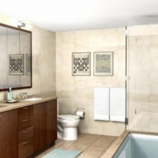 Kalahari Harlem New Construction Building Bathroom - NYC Condos