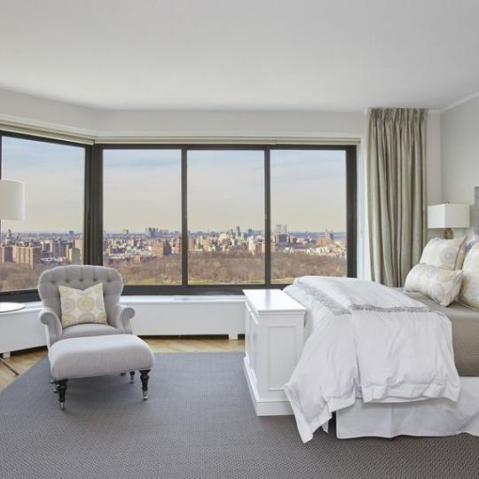 Bedroom at Carnegie Hill Towers in NYC - Condos for sale