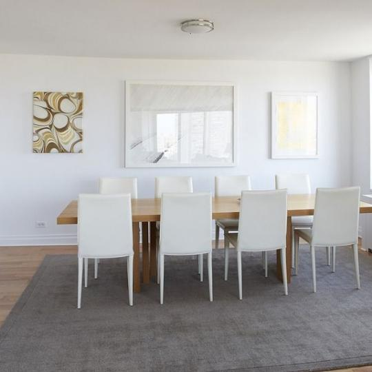 Dining Area at Carnegie Hill Towers in NYC - Apartments for sale