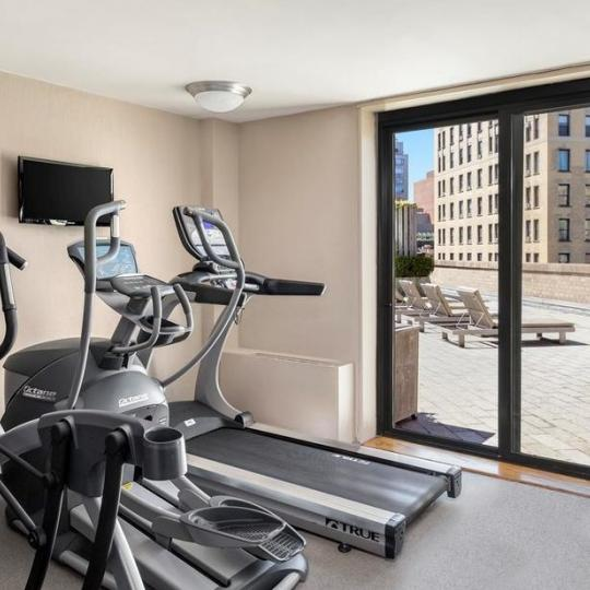 Fitness Center at Carnegie Hill Towers in Manhattan