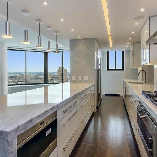 Open Kitchen at 40 East 94th Street in Manhattan