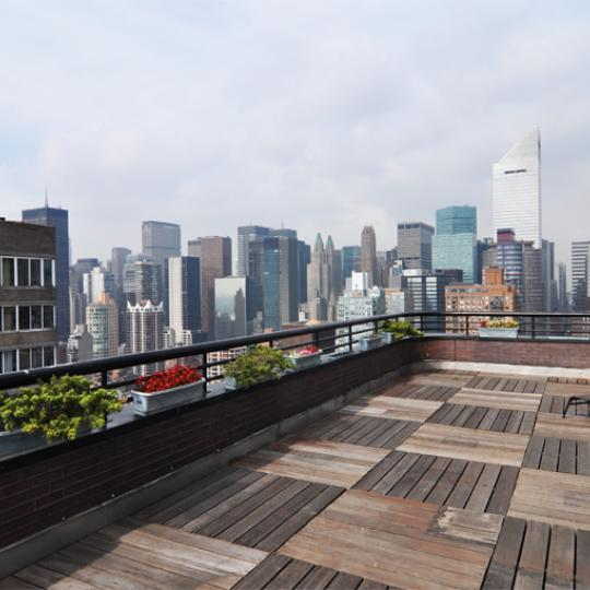 St James Tower - 415 East 54th Street - Sutton Place - Midtown East - Rooftop