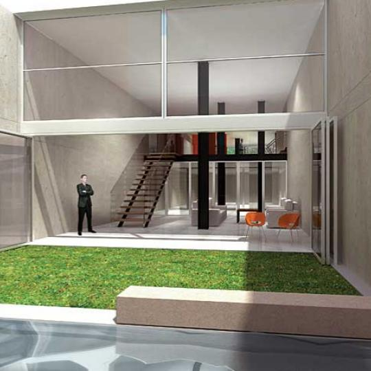 420 West 25th Street Courtyard Garden - NYC Condos for Sale