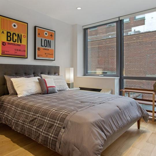 Condos for sale at 42-83 Hunter Street in NYC - Bedroom