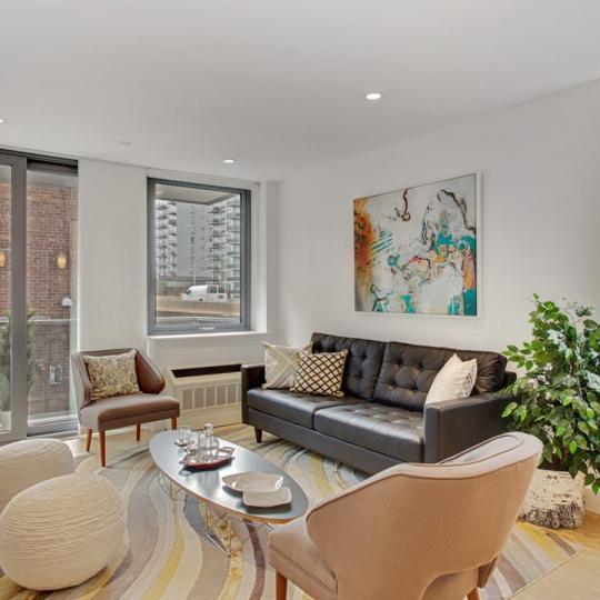 Living Room at 42-83 Hunter Street in Long Island City