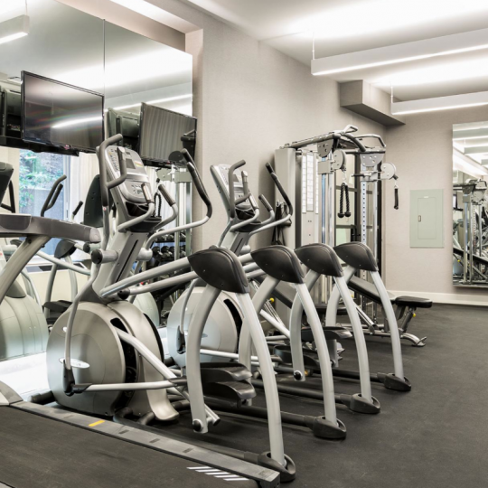 Fitness centre at 432 West 52nd Street