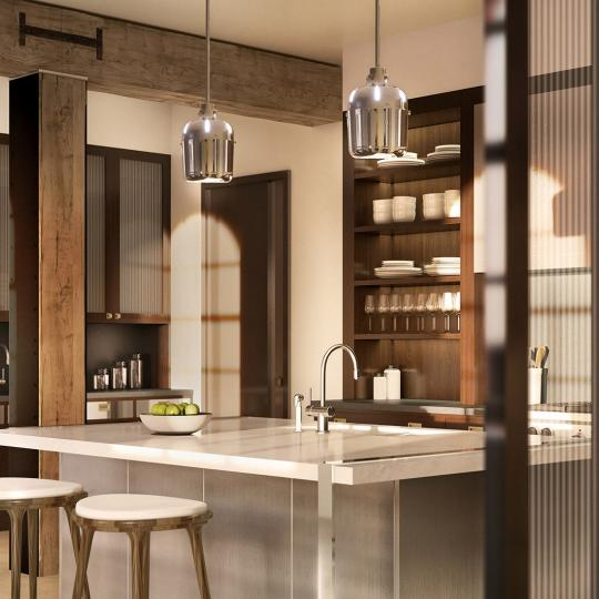 Kitchen - 433 Greenwich St. - Tribeca