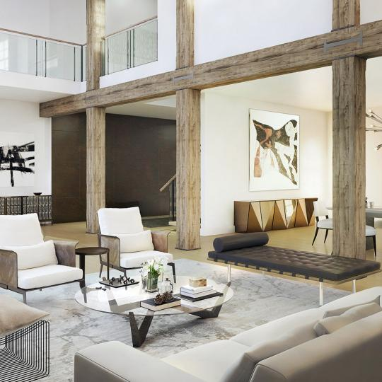 Living Room - 433 Greenwich St. - Tribeca