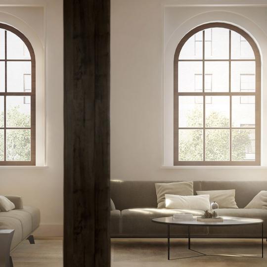 Living Room - 433 Greenwich St. - Tribeca