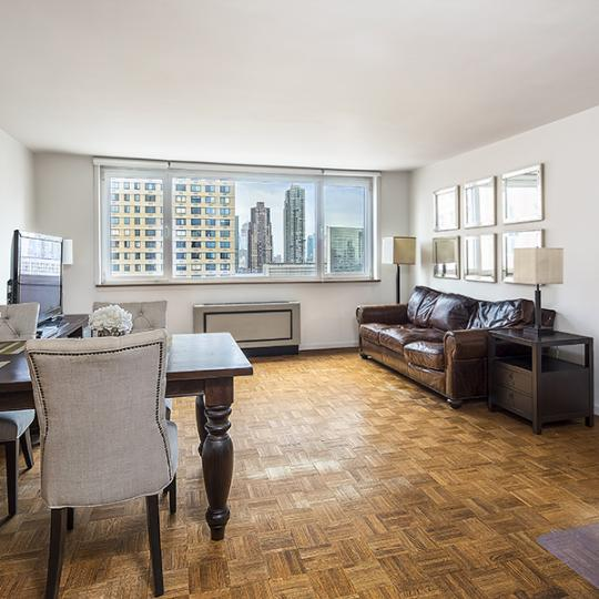 Living Room - 45 West 67th Street - Manhattan Luxury Condos - Window