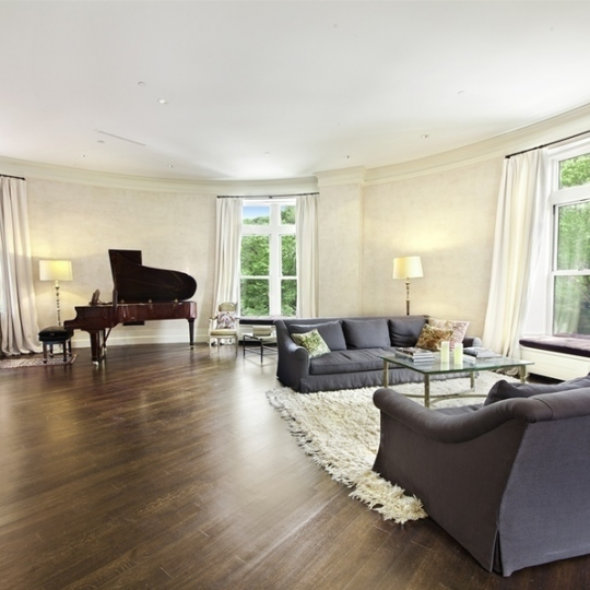 Living Room - 455 Central Park West - Condo - Upper West Side