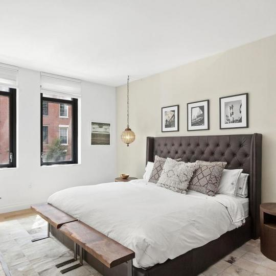 Bedroom at 455 West 20th Street in NYC - Apartments for sale