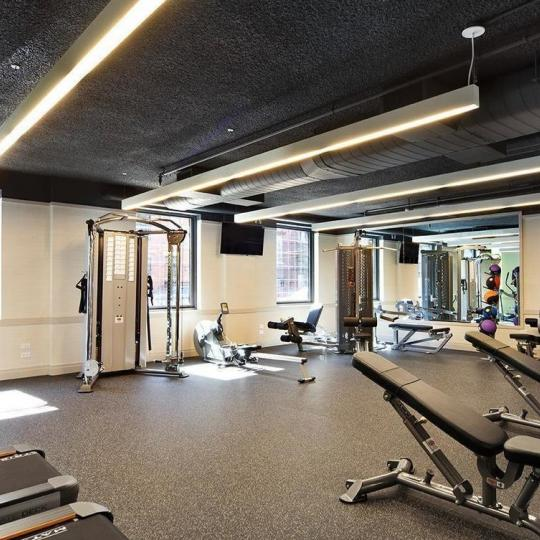 Fitness Center at 455 West 20th Street in Manhattan