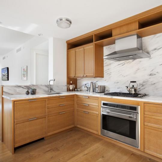 Open Kitchen at 455 West 20th Street in Manhattan