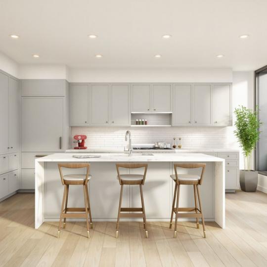 Open Kitchen at 465 Pacific Street in NYC