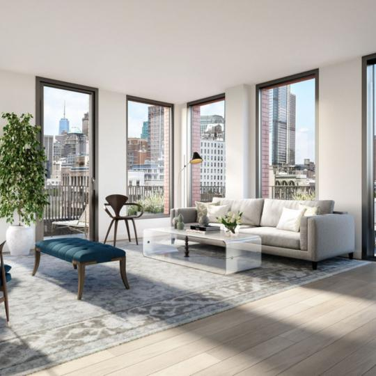 Condos for sale at 465 Pacific Street in NYC - Livingroom