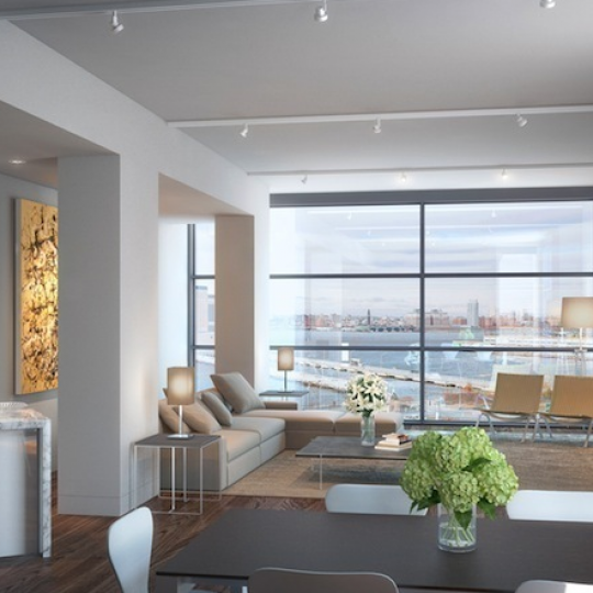 471 Washington Street - Tribeca NYC - Luxury Apartments - Living Area