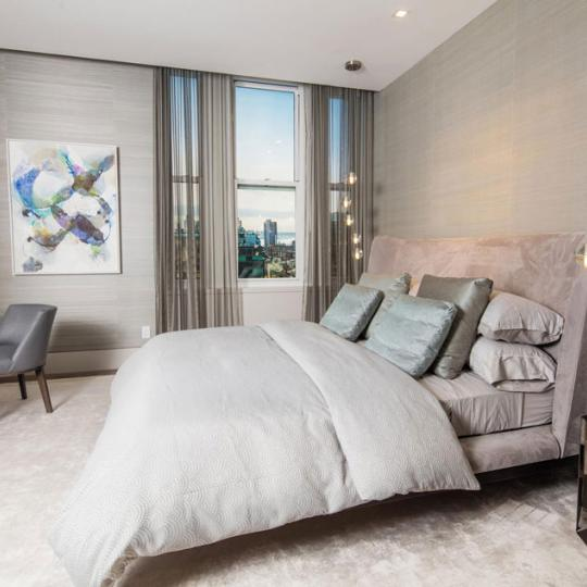 Apartments for sale at 49 Chambers Street in NYC - Bedroom