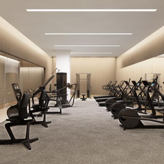 Fitness Center at 49 Chambers Street in Tribeca