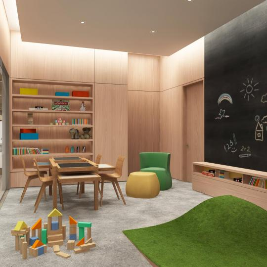 Apartments for sale at 49 Chambers Street in NYC - Children's Playroom