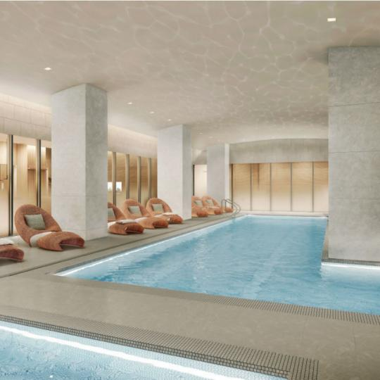 Condos for sale at 49 Chambers Street in Manhattan - Pool