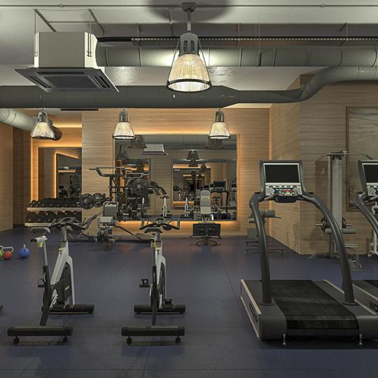 Gym - 500 West 21st Street - Apartments for Sale
