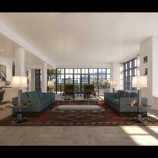 Living Room - 500 West 21st Street - Apartments for Sale