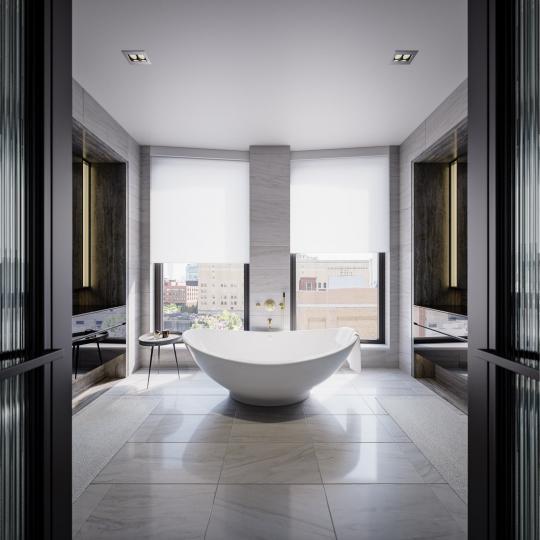 Bathroom- 505 West 19th Street- condo for sale in Manhattan