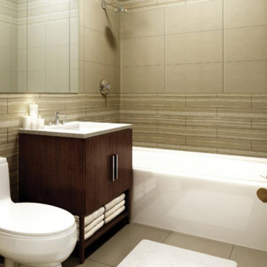 The 505 Bathroom - New Condos for Sale NYC