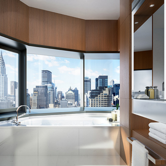 50 United Nations Plaza- Bathroom- Condos for sale