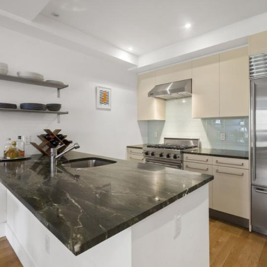 Kitchen at 50 West in Manhattan - Apartments for sale