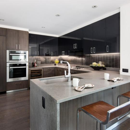 Open Kitchen at One Riverside Park in Upper West Side
