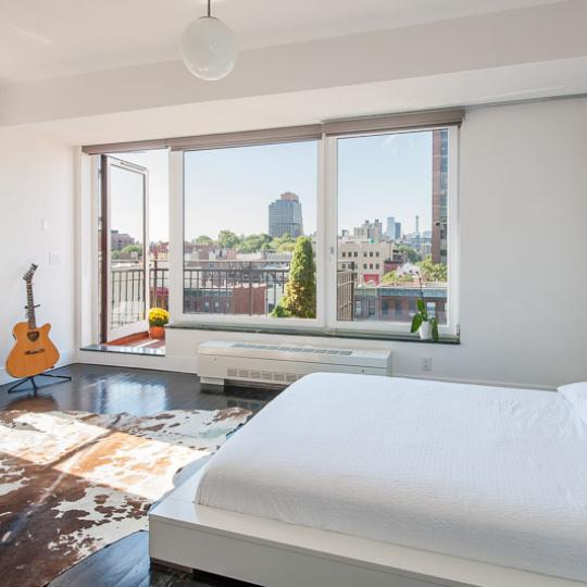 Apartments for sale at 50 West 127th Street in Harlem - Bedroom