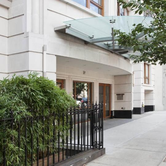 The Building's Entry at 50 West 127th Street in NYC