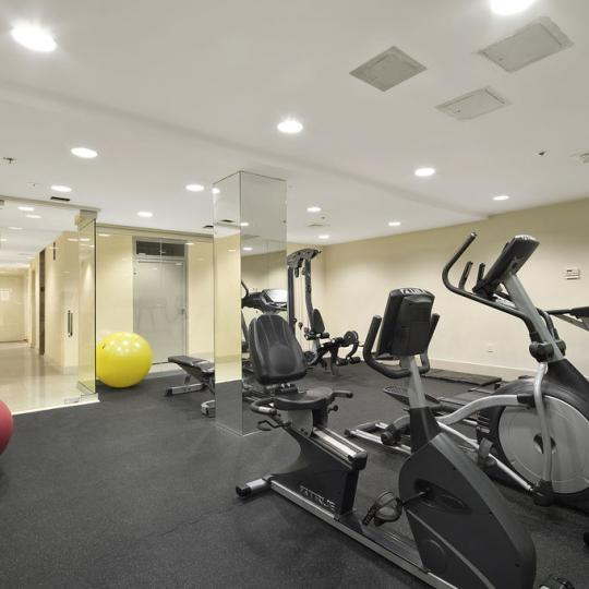 Fitness Center at 50 West in Harlem - Condos for sale