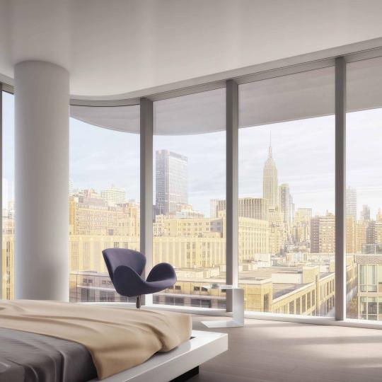 520 West 28th Street in Chelsea - Bedroom