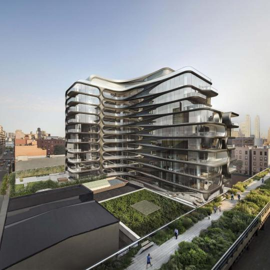 Apartments for sale at 520 West 28th Street in NYC
