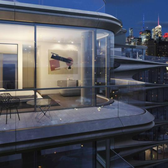 Condos for sale at 520 West 28th Street - Balcony