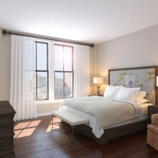 Bedroom - Manhattan Luxury Condos - 52 Laight Street
