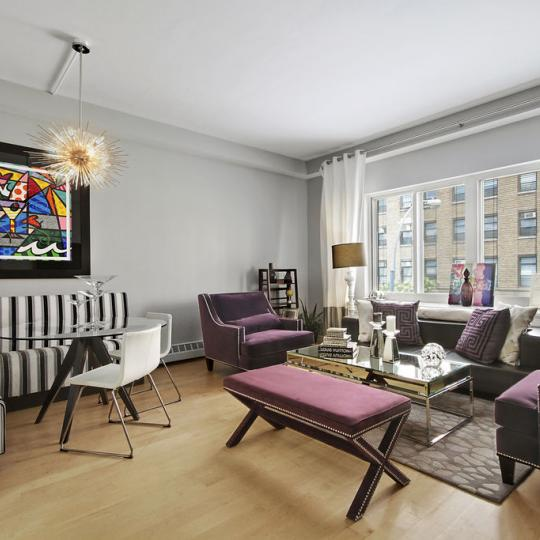 534 West 42nd Street Living Room - NYC Condos for Sale