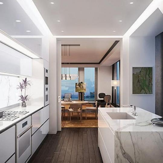 Open Kitchen at 53W53 in Midtown West - Apartments for sale