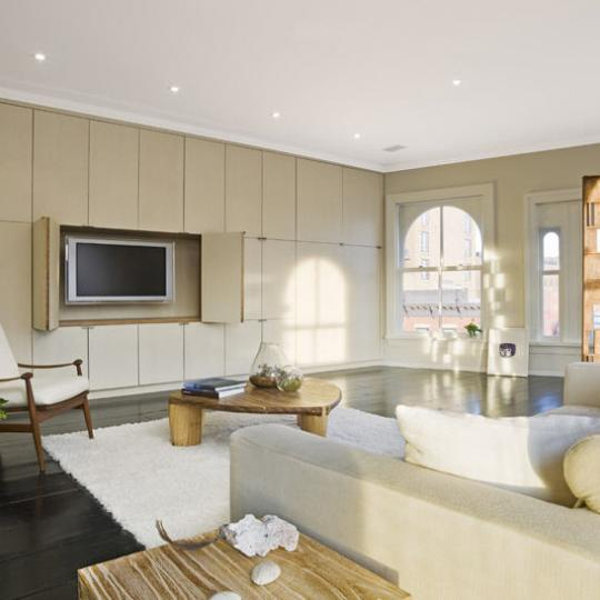 54 Bond Street Family Room - NYC Condos for Sale - Greenwich Village